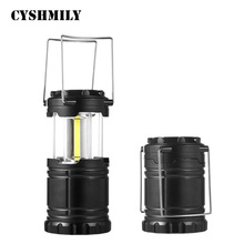 CYSHMILY Wholesale Plastic Work Overhaul Outdoor Portable Emergency Light Led Cob Camping Lantern