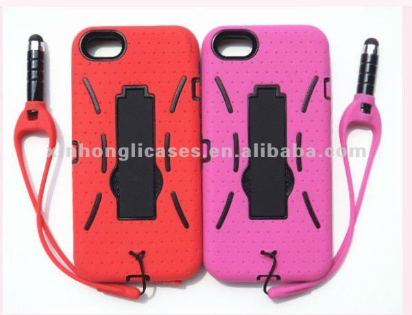 TPU+PC case for iphone 5