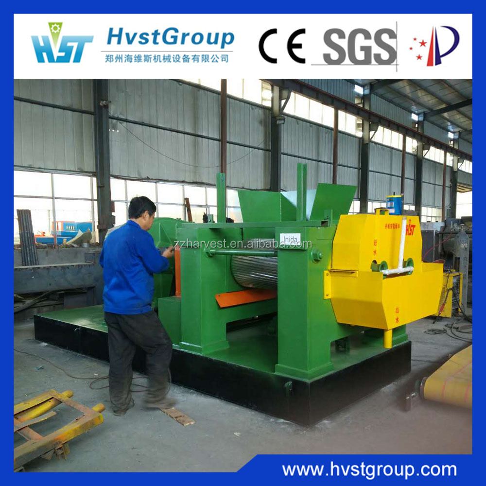 China Supplier Fine Quality Open Mixing Mill For Rubber Recycling Project