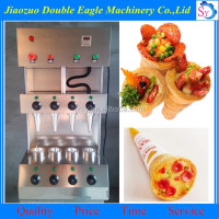 best selling pizza cone machine/full automatic pizza cone mould machine