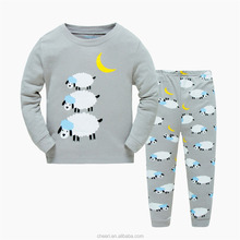 2017 new design cheap hot selling trendy kids sleepwear 100 cotton kids bedding set /sets for kids