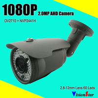AHD analog video camera cctv monitor excellent image 1080p 2.0mp hidden sony camera for outdoor
