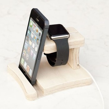 Watch Charging Station, Phone Docking Stations, wood tablet dock