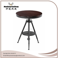 Hot sell plywood round coffee or bar table