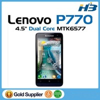 "Original Lenovo P770 4.5"" IPS Screen Android OS4.1 Lenovo Smart Phone 1.2GHz Dual Core P770 Dual Sim Dark Blue"