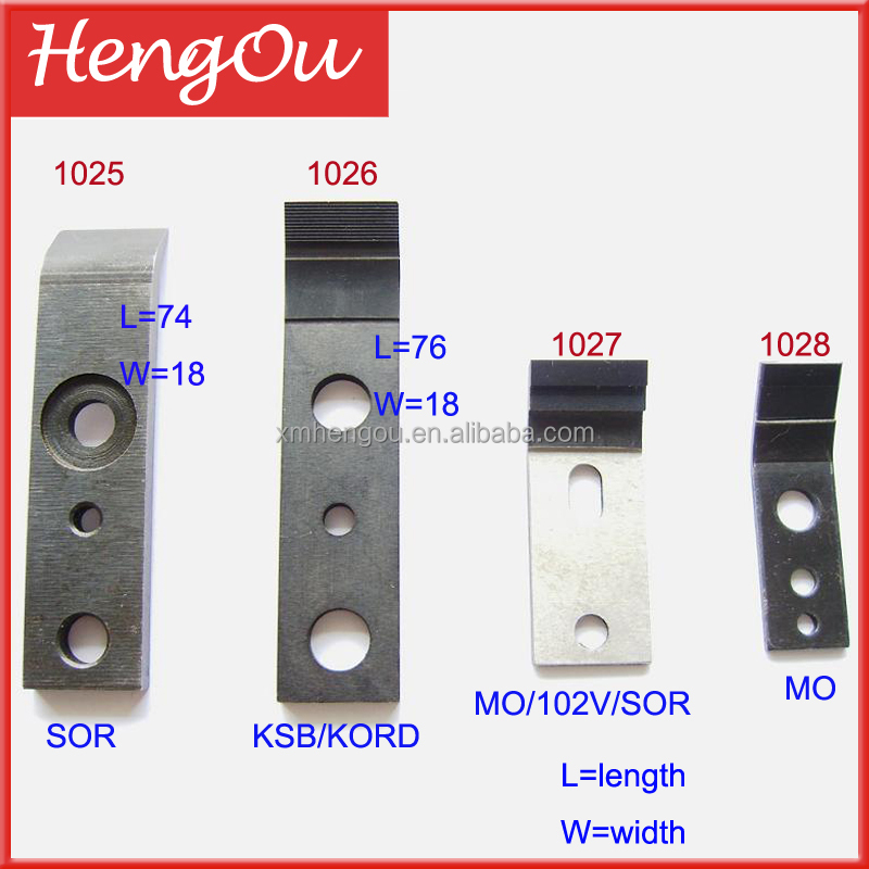 Heidelberg SOR/KORD/KSB/102V/SOR/MO Spare Parts Gripper For Printing Machine