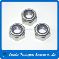 Oem hex stainless steel gland lock nut with good quality