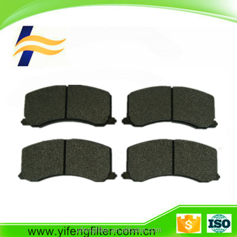 Car Auto Brake Systems Rear Brake Pads OE 58302-1YA30/58302-0XA00 For Picanto