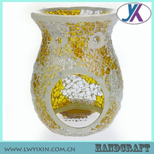 Tempered fragrance world best selling products mosaic glass egyptian oil burners