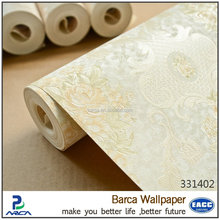 Paper wall washable wallpaper for bathroom