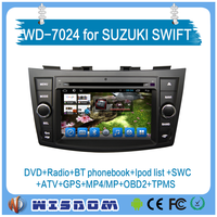 2016 Wisdow 2 din touch screen car radio gps for suzuki swift gps tracker DVD, GPS, Radio, Bluetooth