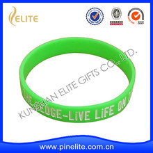 good quality free silicone wristbands for samples,custom silicone wristbands china