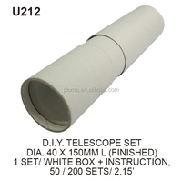 Diy telescope toy for kids educational science kits