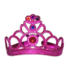 new fashion Children hair accessory kids princess plastic tiara and crown