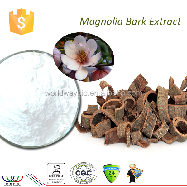 Natural skin whitening product anti depressant free sample magnolia bark magnolia officinalis extract magnolia extract