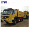 China New design heavy duty howo 25 ton tipper truck price for sale