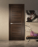 Interior High Quality Fancy Wood Door Waterproof Flush Door