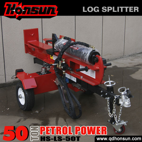 8 years no complaint Honda engine CE approved professional mechanical larch log splitter