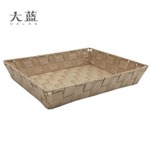 Nylon woven storage bin with metal frame