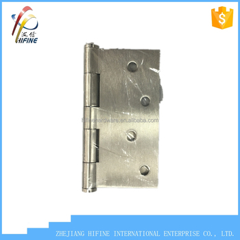 "high quality SS304 hinge 4""x4"" hinge wood hinge stainless steel hinge"