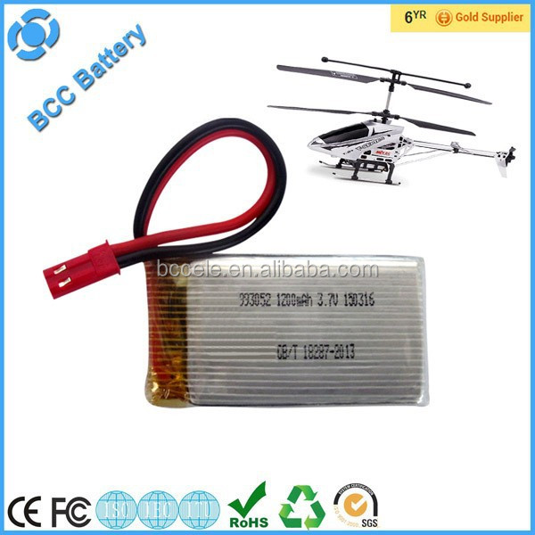 mini helicopter battery 3.7V rc helicopter with long battery life
