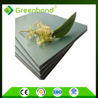 Greenbond PVDF coating acm panels commercial exterior wall cladding