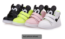 LED kids Baby Infant Casual Shoes children sport shoes trainers sneakers