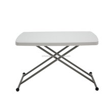 plastic folding adjustable laptop table