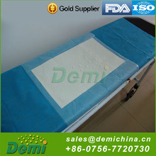 Disposable printed nursing medical absorbent pad