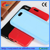 Fashion Color Clear Back Covers Jelly Case For iPhone 6 6S 6S Plus