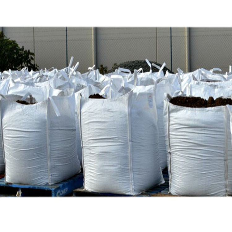 Breathable White PP Bulk Bag For Carrying Coal