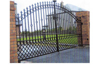 walk Gates Turnstile Gates metal gate/ wrought iron main gate and steel fence finals wall design for homes