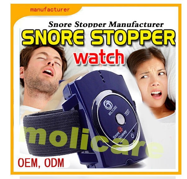 Healthcare Medical Sleep Aid! nasal strips wrist watch, nose strips watch, snore stopping wrist watch