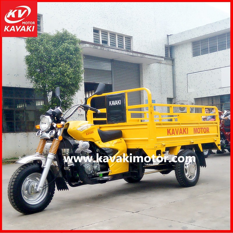 Lifan Zongshen Locin Engine 3 Wheel Motorcycle 150cc 175cc 200cc 250cc KAVAKI Factory In Gz
