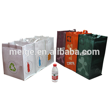 Cycle use waste collection RPET shopping bag