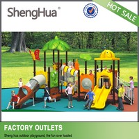 Cheap school used childrenoutdoor play equipment swing set
