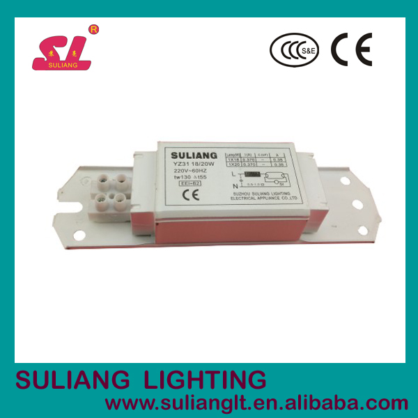18w 20w fluorescent lamp ballast magnetic ballast manufacturer