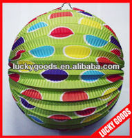 custom made hot sale watermelon paper lanterns