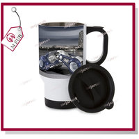 Super great quality Sublimation 14oz Stainless Steel Mug -Full White