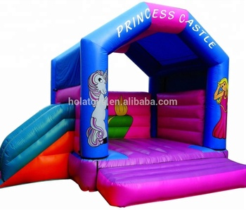 unicorn inflatable bouncer/inflatable bouncy castle for kids
