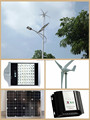 wind solar hybrid power system for streetlight solution