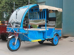 2016 new electric tricycle for passenger/ hot auto rickshaw for Indonesia Philippines Nepal