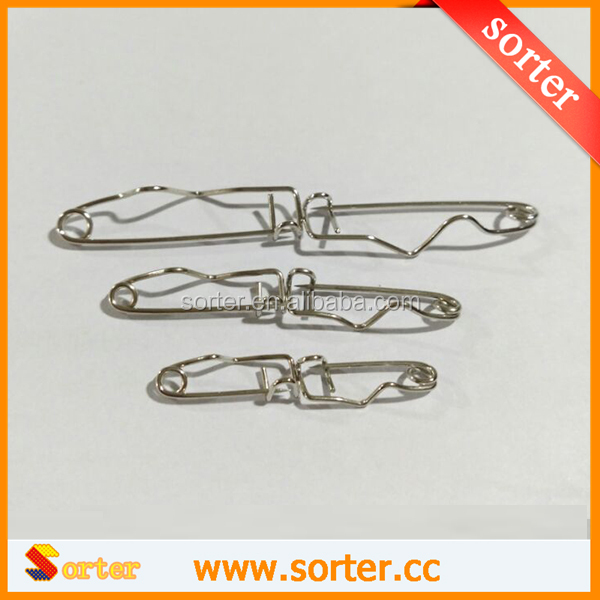 32mm Wholesaled Badge Back Steel Crimp Safety Pins