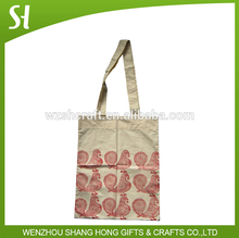 Canvas blank tote bag custom printed canvas bag red images wholesale cotton bag