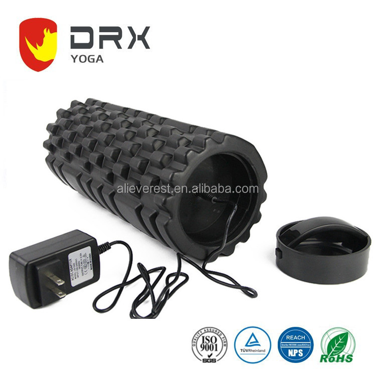 Vibration Foam Roller Crossfit Massage Roller Floating Point Fitness EVA Foam Roller For Physical Therapy & Exercise Muscle