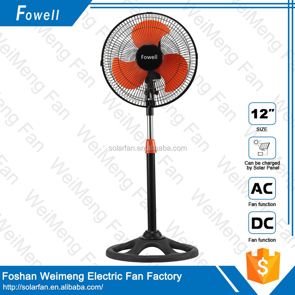 solar energy home appliances remote standing solar power 12v dc fan