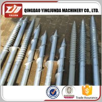Pv Construction Ground Screw Pole Anchor F76