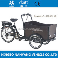 Cheap europe popular adult three wheel cargo tricycle /shopping tricycle