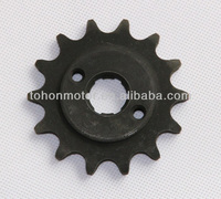 Motorcycle Small Sprocket, for Honda Suzuki Yamaha 110cc, 125cc, 150cc, 200cc