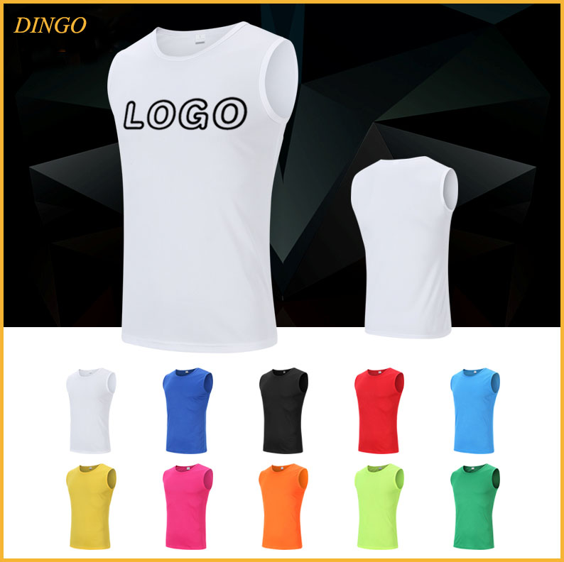 New dri fit sleeveless t shirts wholesale with printing